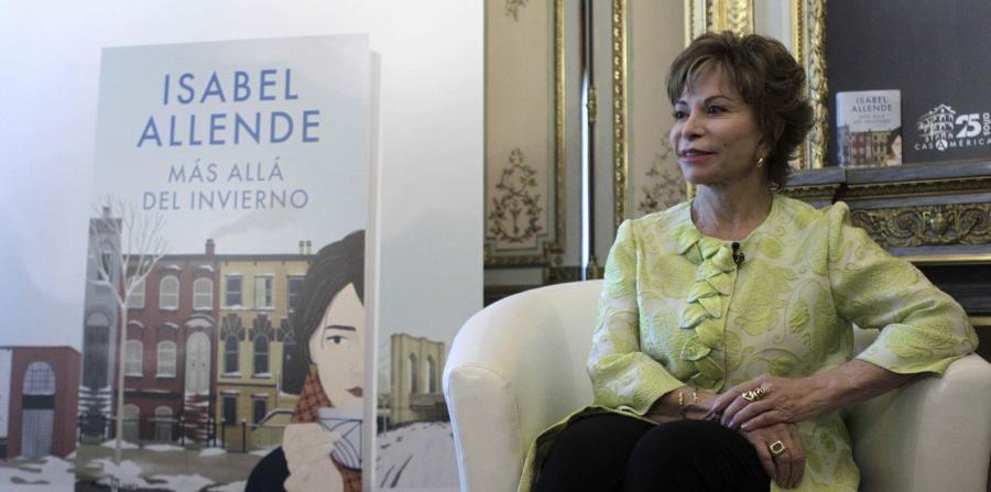"""Isabel Allende presenta su nueva novela: """"Más allá del ..."""
