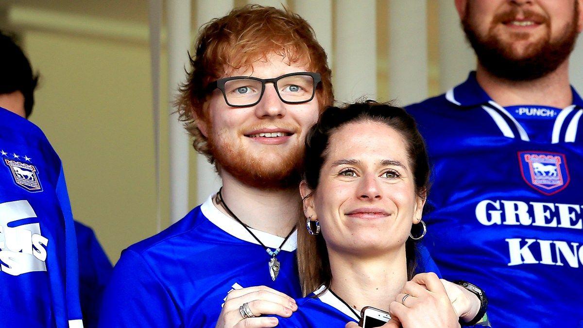 """Resultado de imagen para Ed Sheeran esposa"""""""